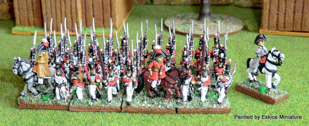 Des Anglais période Empire en 15mm