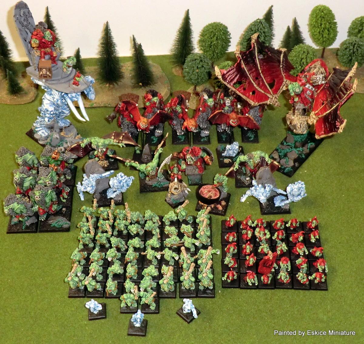 Une armée Orque-Vampire pour Warhammer
