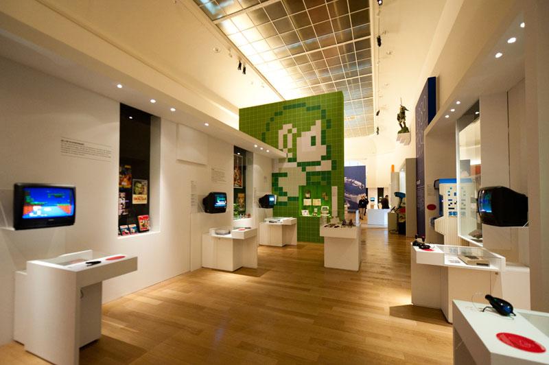 Exposition Game Story au Grand Palais, Paris, du 11 novembre 2010 au 10 janvier 2011
