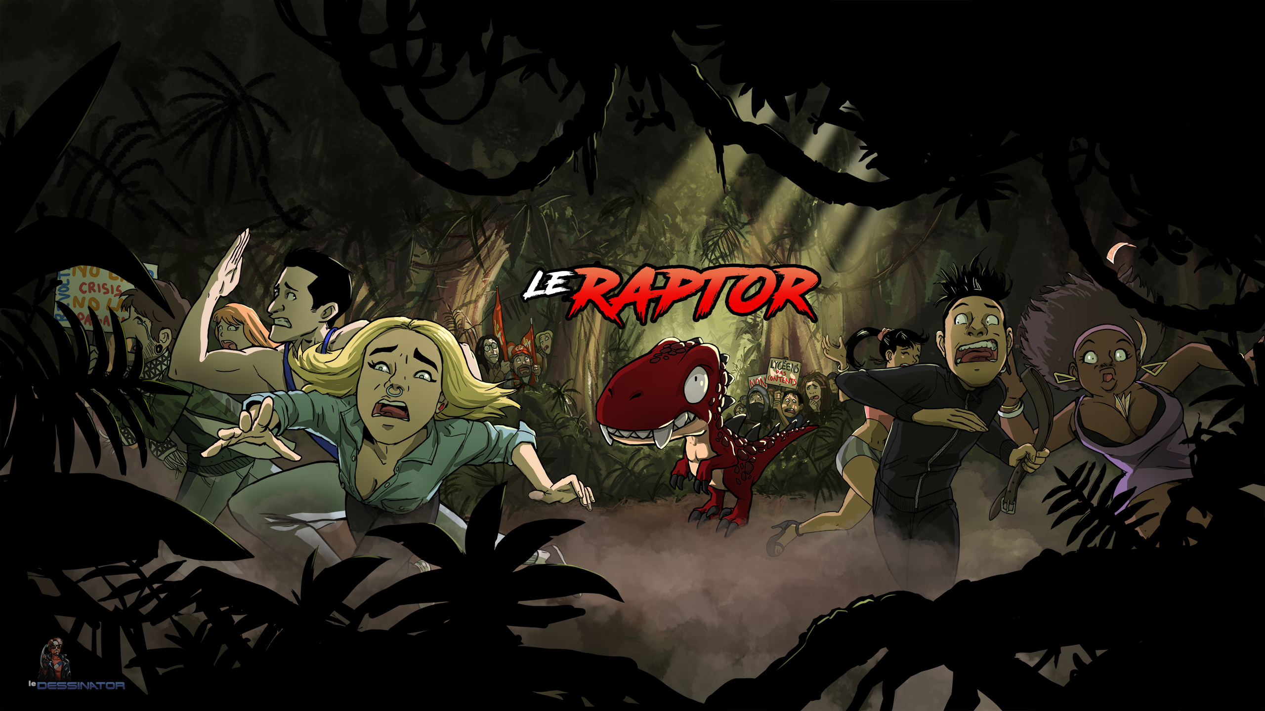 Le Raptor - Banni\u00e8re Officielle