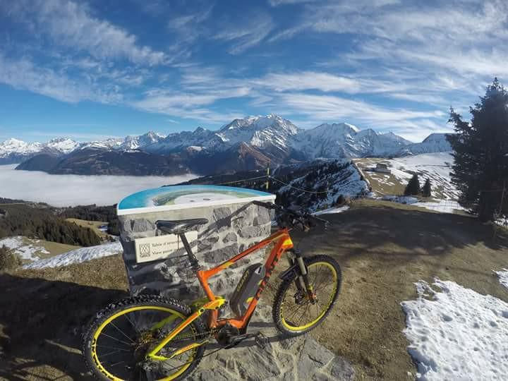 Le Mont Blanc depuis St Gervais