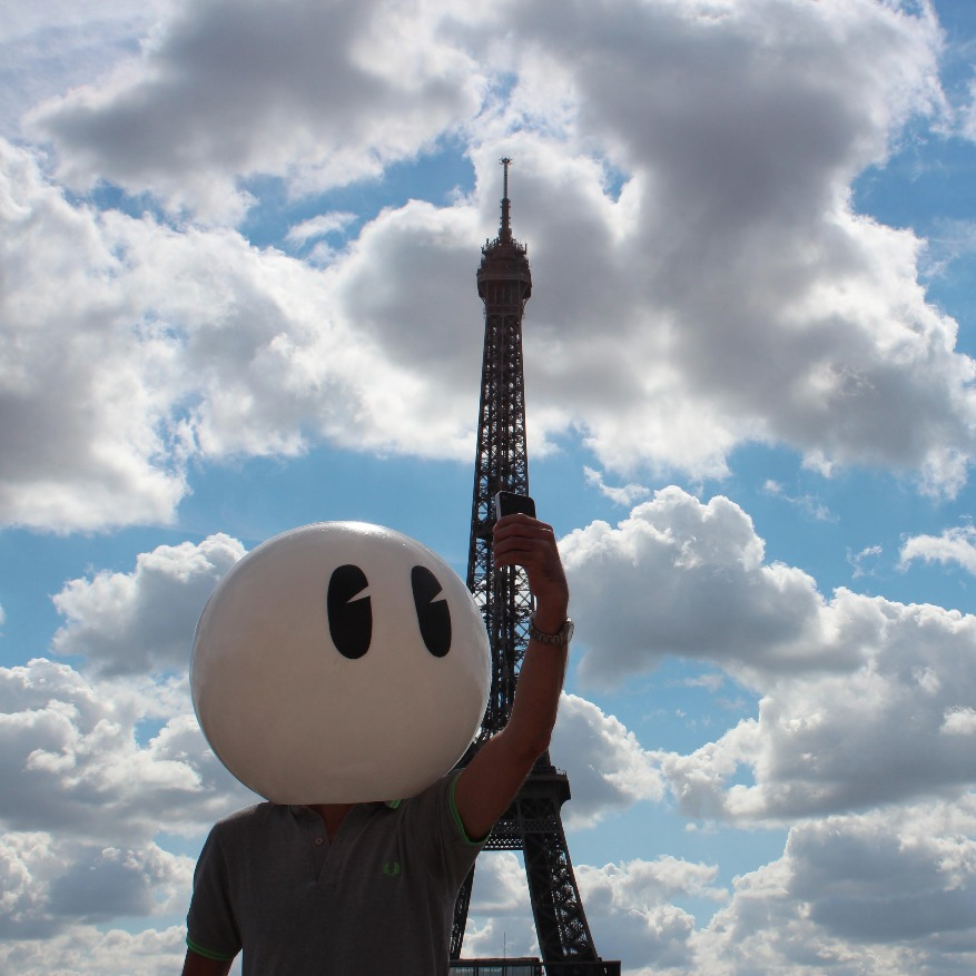 Monsieur Bidule, Une oeuvre de Romuald&PJ