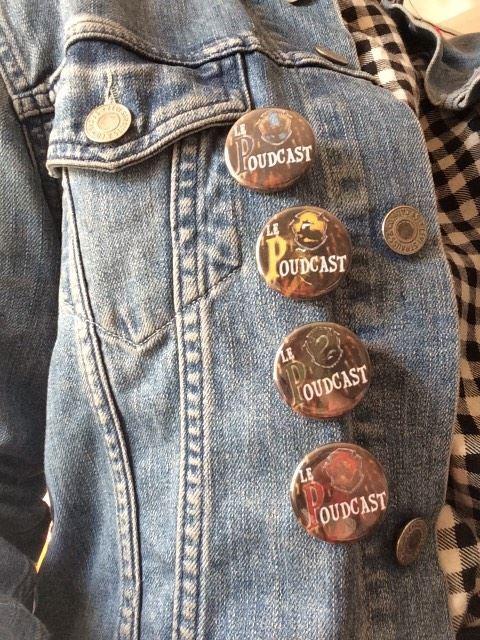 Nos badges et notre affiche