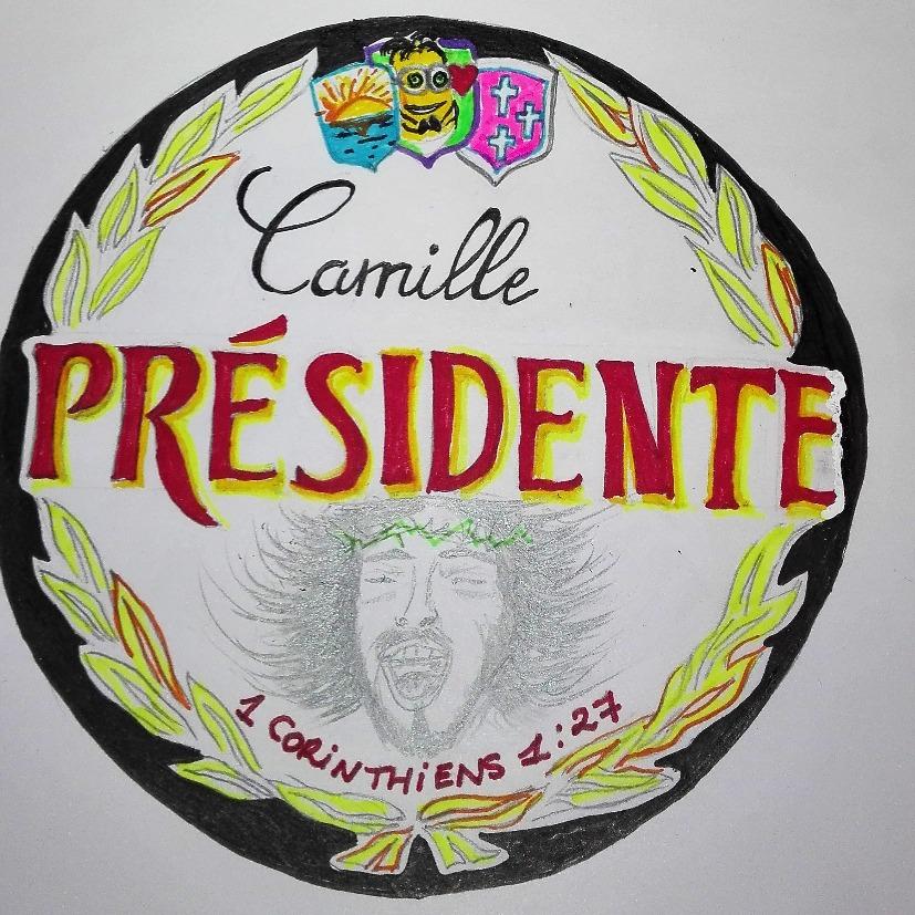 Camille Présidente