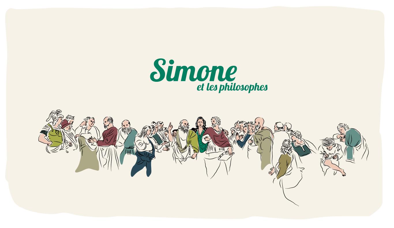 Simone et les philosophes
