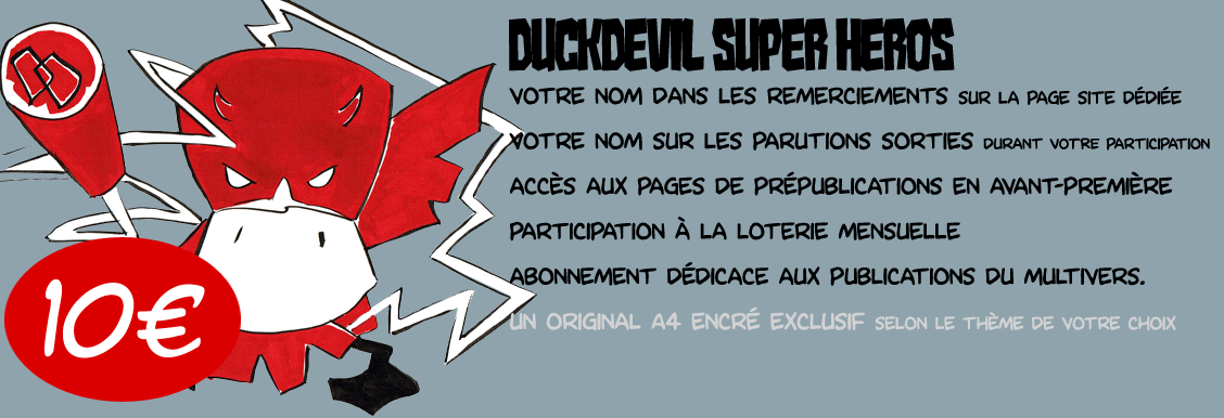 Duck Devil Super Heros