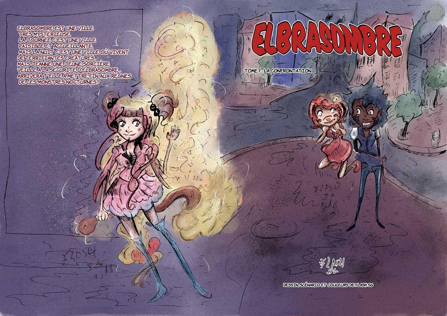 Manga: Elbrasombre
