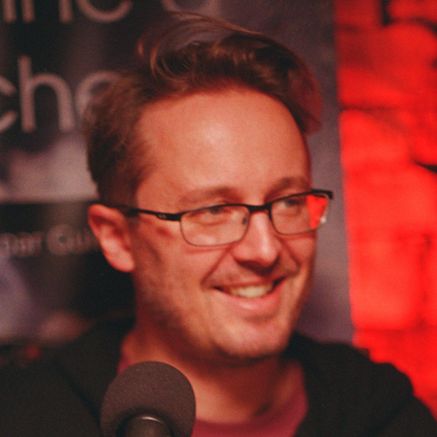 Guilhem écrivain de SFFF et scénariste de DonJon Legacy