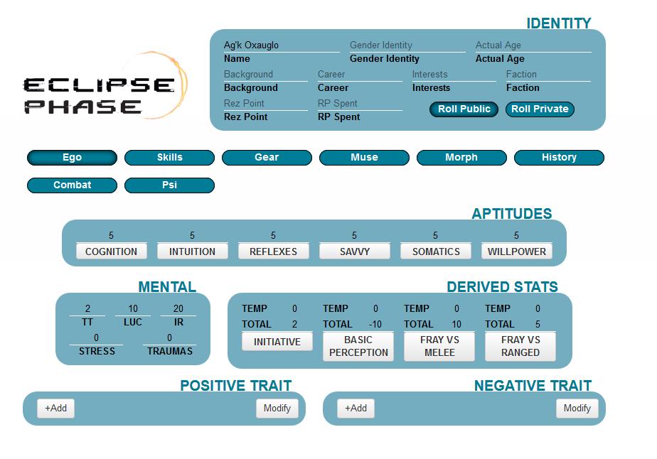 Eclipse Phase V2