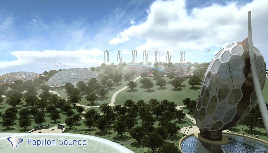 LE PAPILLON SOURCE - Concept Art 37