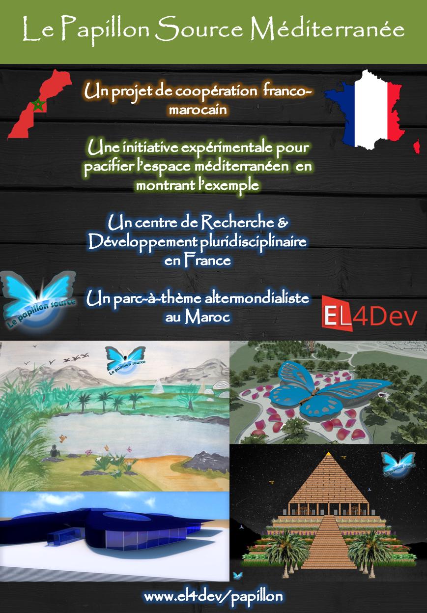 LE PAPILLON SOURCE EL4DEV - Projet communautaire de cit\u00e9s\/complexes altermondialistes - Aidez-nous \u00e0 communiquer