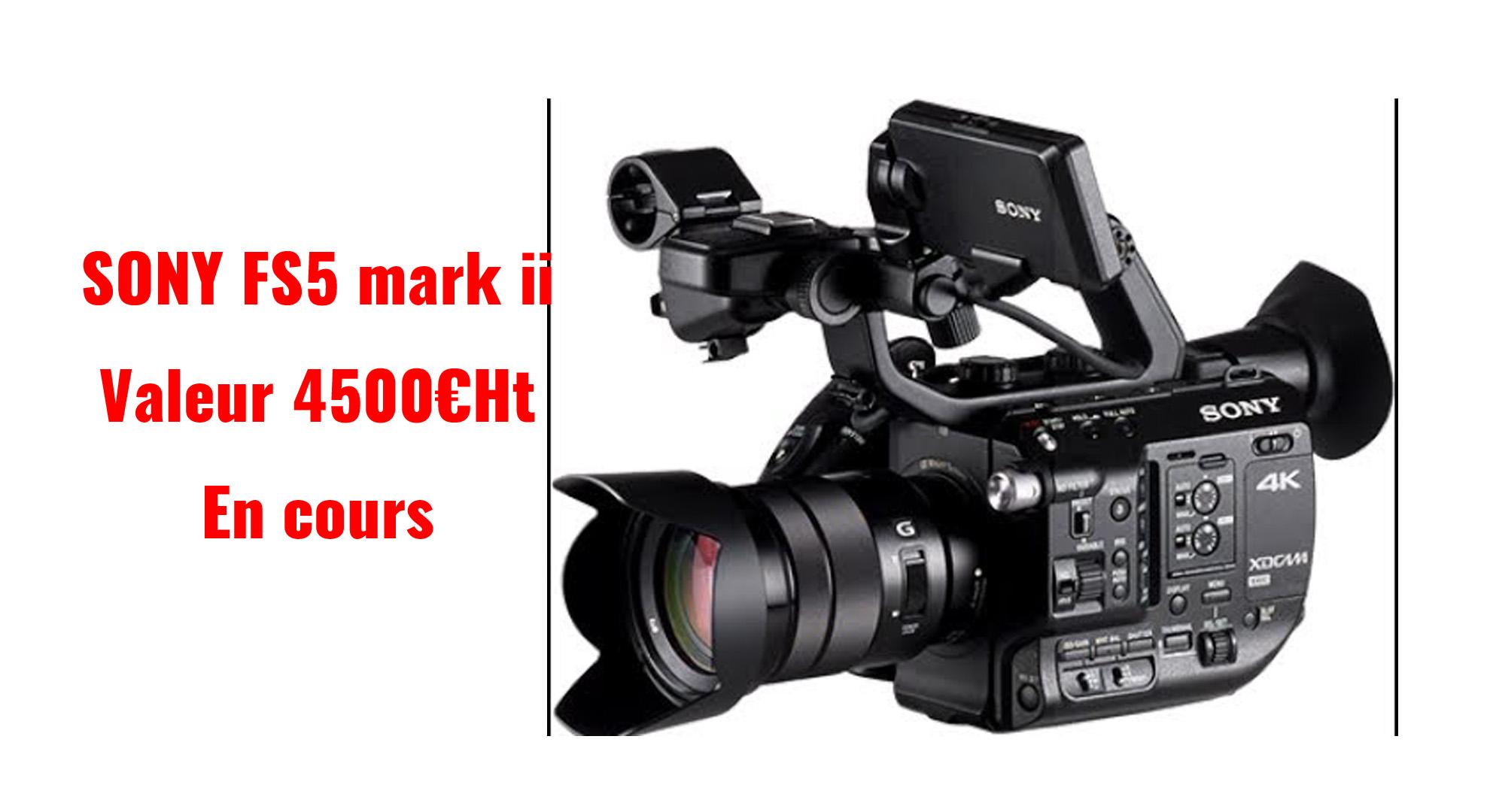 Cam\u00e9ra pro Sony FS5 M2