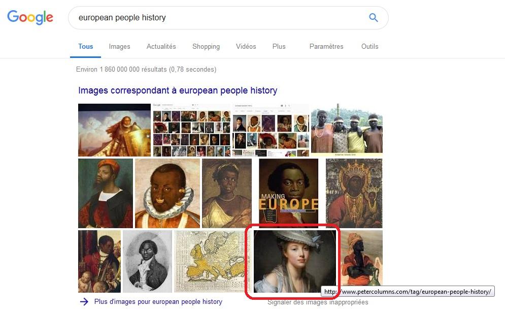 Google Images - European People History