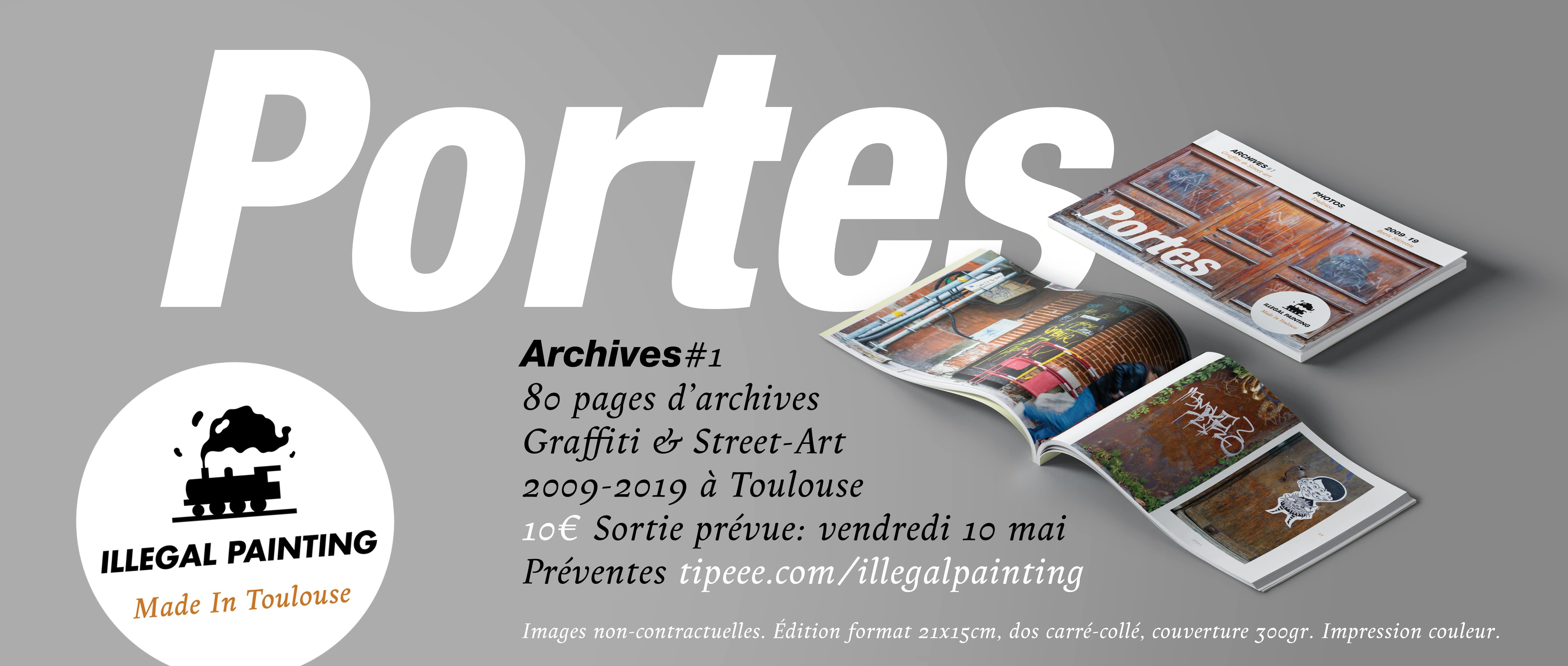 Portes, Archives graffiti & Street-Art \u00e0 Toulouse 09-19
