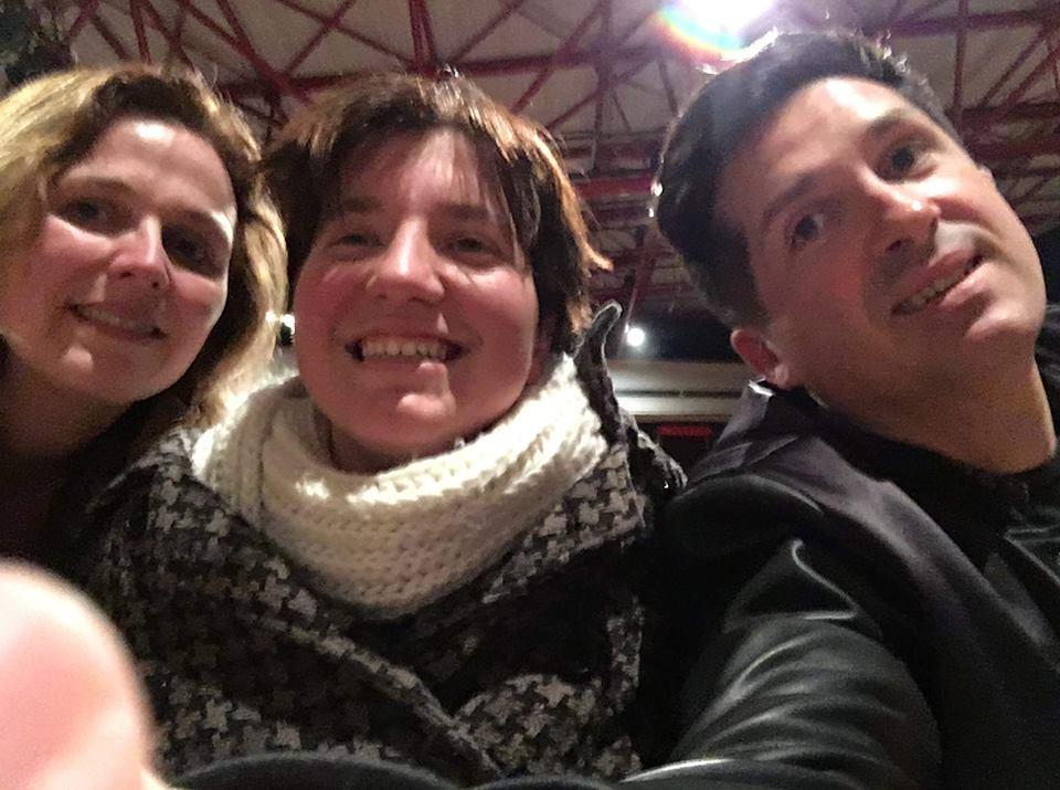 avec Lia Revas et Fabien Castet