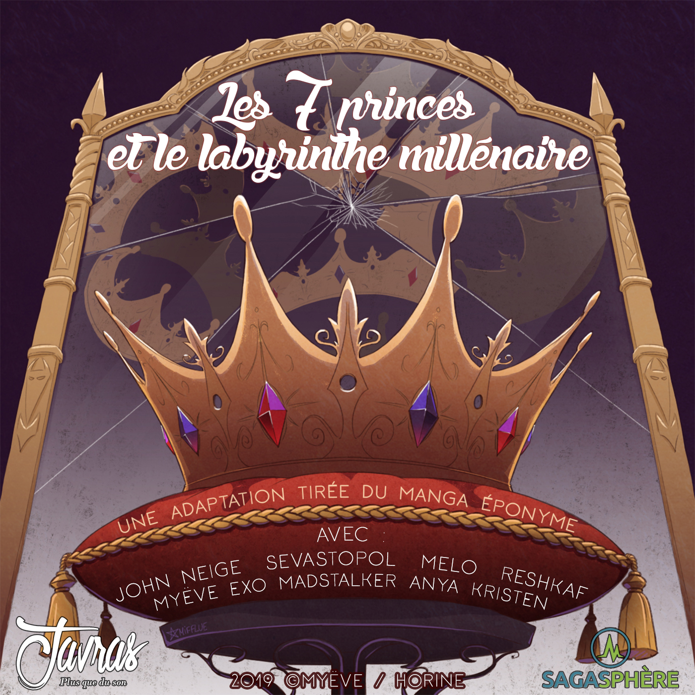 Les sept princes et le labyrinthe millenaire