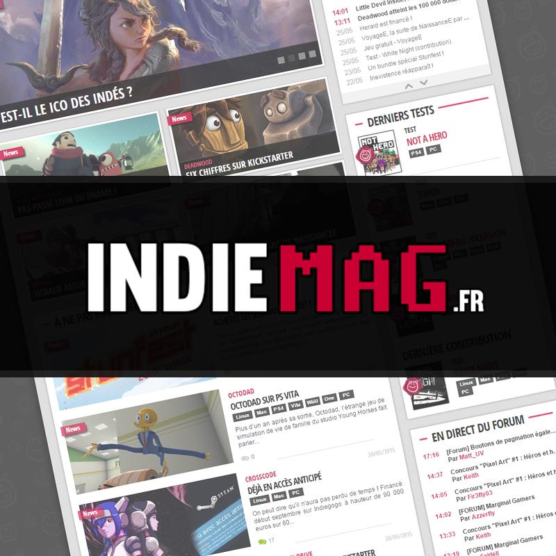 Indiemag.fr | L'actualité du jeu indépendant